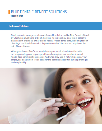 Vision, Dental and More | BlueCross BlueShield of South ...